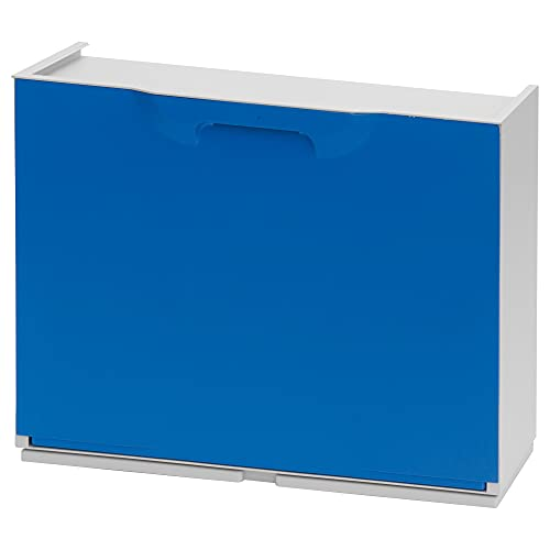 Art Plast ZA1485 Zapatero en polipropileno color azul, 40,1x51x17,3