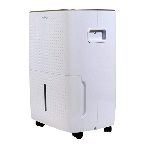Soleus AC 35-Pint Energy Star Rated Dehumidifier with Mirage Display and Tri-Pat Safety Technology, DSJ-35EW-01, White