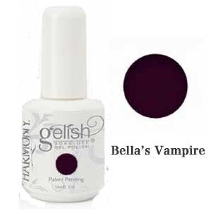 ズームインする動的アトムHarmony gelishソークオフジェル-Bella's Vampire 15ml [海外直送品][並行輸入品]