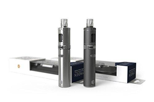 LYNDEN® NOW 2.0 E Zigarette Starterset | Topfill | 15W - 25W | 2ml Tank | e Shisha Starterset | Elektronische Zigarette (Schwarz)