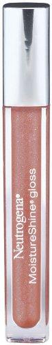 Neutrogena MoistureShine Lip Gloss, Healthy Peach 500 (Pack of 2)