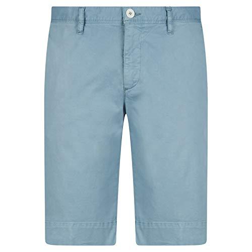 ALBERTO Slim-Fit Short in Chino-Optik blau (821 Blue) 30