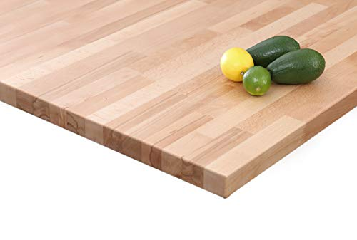 HOUSE OF WORKTOPS - Solid Beech Kitchen Worktops, Length: for sale  Delivered anywhere in Ireland