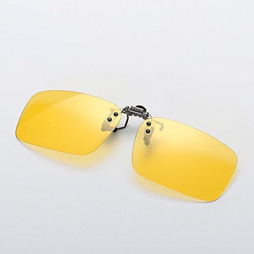 Zon HD zonnebril clip voor mannen vrouwen intelligente kameleon zonnebril Polariseren clip Near-Sighted clip Anti-UVA Anti-UV Nachtzicht Fietsen Riding vissen Pilot Zonnebril met Kleurveranderende UV400 gl