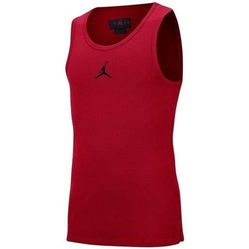 NIKE AV3242-687 Shirt, Gym Red/Black, XS Mens
