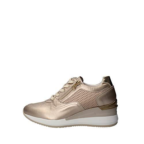 Nero Giardini 0466D Sneakers con Lacci in Pelle Donna