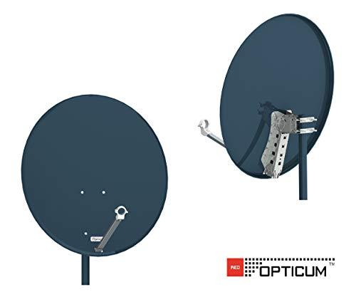 Opticum X80 Satelliten-Antenne 80 cm Stahl anthrazit