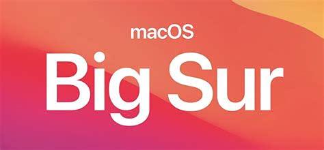 Memoria USB Mac OS Big Sur