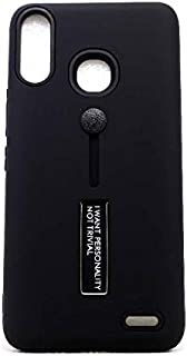 Back Cover With Stand For Infinix HOT 7 X624 , Black