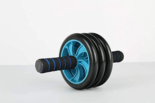 GUONING-L Übung Bauchrolle zweirädrige Zweiradfitnessgeräte zu Hause Bauch Muskel Rad dreirädrigen Bauch Rad Mute ab Bauch