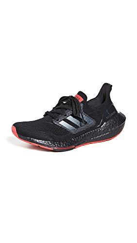 adidas Women's x Arsenal 424 Ultraboost Sneakers, Core Black/Carbon/Scarlet, 11 Medium US