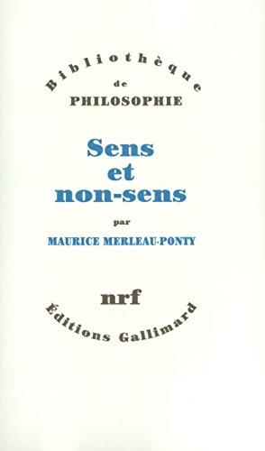 Sens et non-sens (French Edition)