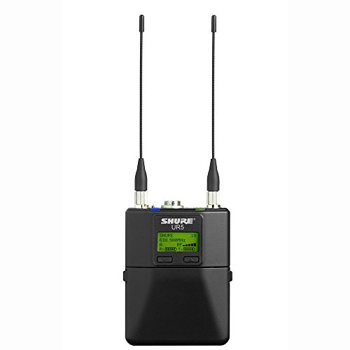 Shure UR5 Portable Wireless Microphone Receiver - G1 (470 - 530MHz)