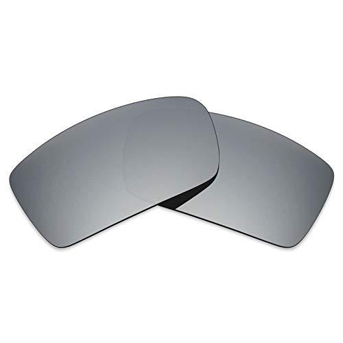 MRY - Gafas de sol - para hombre Multicolor Silver Titanium