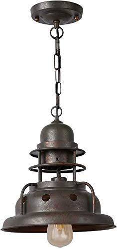 XYSQWZ Lámpara Colgante De Torre De Metal Retro Lámpara De Lámpara Industrial Vintage Lámpara De Diseño Clásico Lámparas De Suspensión Nostalgia para Comedor Loft E27 3500k Oslash; 30 Veces; Lámpara