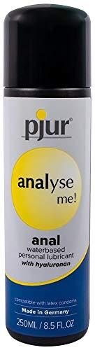 pjur analyse me! Comfort Water Anal Glide - Gleitgel auf Wasserbasis - für komfortablen Analverkehr - für Sex Toys geeignet - 1er Pack (1 x 250 ml)
