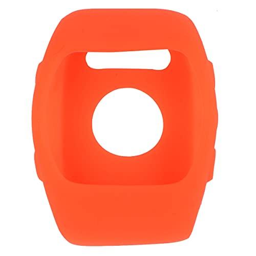 ifundom Funda de silicona fina de mano de obra resistente a los arañazos Carcasa de repuesto compatible con Polar M400 M430 (naranja) Accesorios para teléfono de llamadas para mujeres y hombres