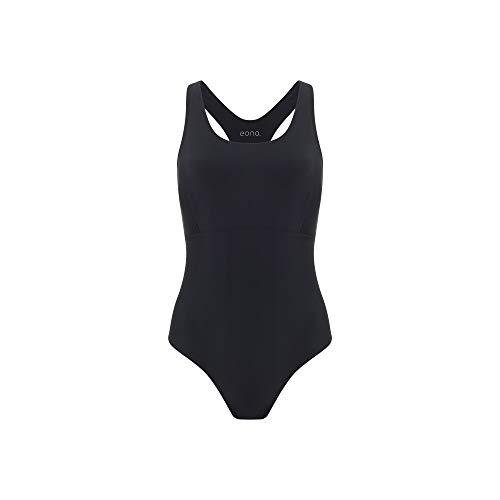 Eono Essentials, costume intero con spalline stile olimpionico, da donna, nylon e spandex, taglia XL