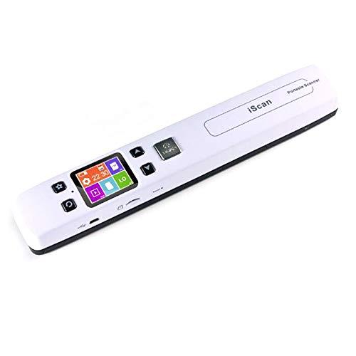Fransande - Escáner de documentos e imágenes (A4, JPG/PDF, formato Wi-Fi, 1050 ppp, pantalla LCD portátil de alta velocidad para Reeus de negocios