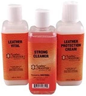 Leather Master Strong Leather Cleaning Bundle - 250ml
