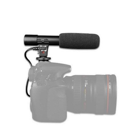 Stereo merk camera microfoon flitsschoen micro micro 3,5 mm jack