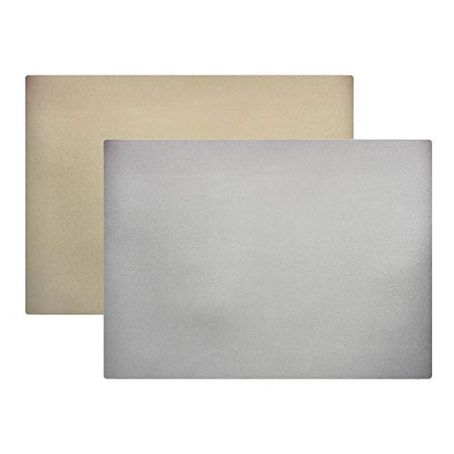Winkler - Set de table - Décoration table - Tapis de table - Résistant chaleur - Antidérapant - Entretien facile - 80% Pvc 20% Polyester - Or/argent Jaune - Duo
