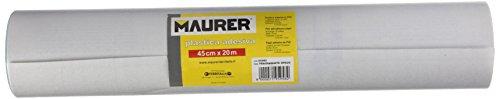 Maurer 5540602–Lamina Adesiva Transparente opaco, 45cm x 20metri