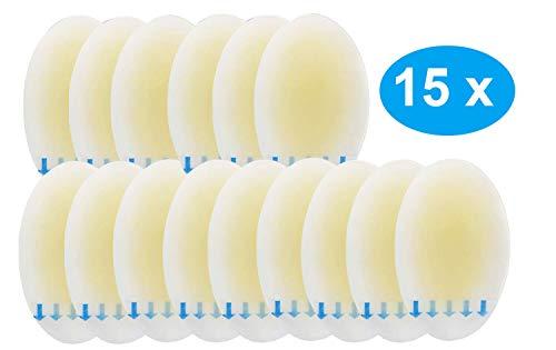 Sumiwish 15x Blasenpflaster, Pflaster Blase Fuß, Gel Pflaster für Blasen an Den Füßen, Für Unterwegs