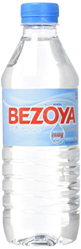 Bezoya Agua Mineral Natural Botella 50cl - [Pack de 12]