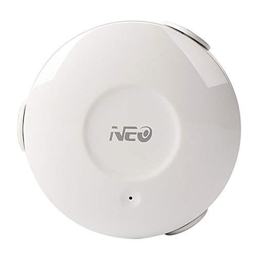 LOLOP WiFi Wasser- / Hochwassersensor Smart Wireless Water Leak Sensor Home Automation