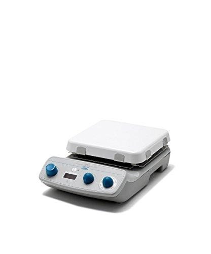 VELP Scientific F20510051 AREC.T Heating Magnetic Stirrer, Timer, White Ceramic Hot Plate, Digital Display, Maximum Temperature 550 Degree C, 15 L Stirring Volume, 1500 RPM, 115V/60 Hz