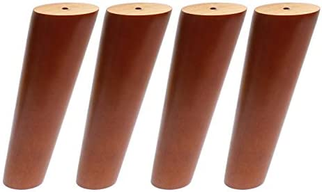 Best Round Solid Wood Furniture Legs Sofa Replacement Legs Perfect for Mid-Century Modern/Great IKEA hack