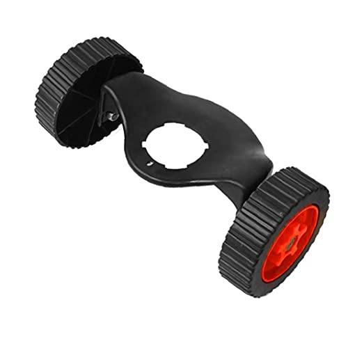 Kacniohen Rasentrimmer Räder, Elektro-Rasenmäher-Zubehör-Akku-Rasenmäher Räder Ersatzteile Hilfs Werkzeuge
