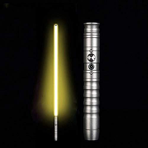 Y&Z Espada Laser Star Wars Fuerza fx sables Serie Negra Espadas Juguete Sable de luz para niños Regalos de Star Wars para Adultos Sable Metal Darth Maul Sable de luz Rojo Anakin Skywalker