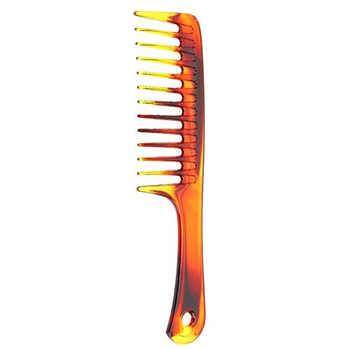 Wide Tooth Comb, Retro Oil Hair Insert Comb Portable Wide Large Tooth Hairstyle Comb, Barber Comb, Best Man Comb Grooming Gift