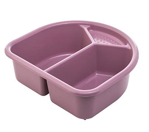 Bol de lavage Rotho Babydesign, 4l, À partir de la naissance, TOP/Bella Bambina, Mauve fantastique (rose foncé), 20006 0288