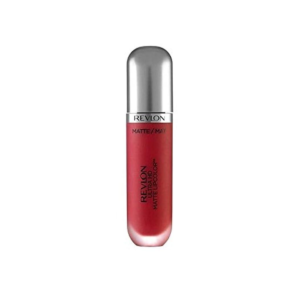 アレルギー光景農業のRevlon Ultra HD Matte Lipstick Passion 5.9ml (Pack of 6) - レブロンウルトラマット口紅パッション5.9ミリリットル x6 [並行輸入品]