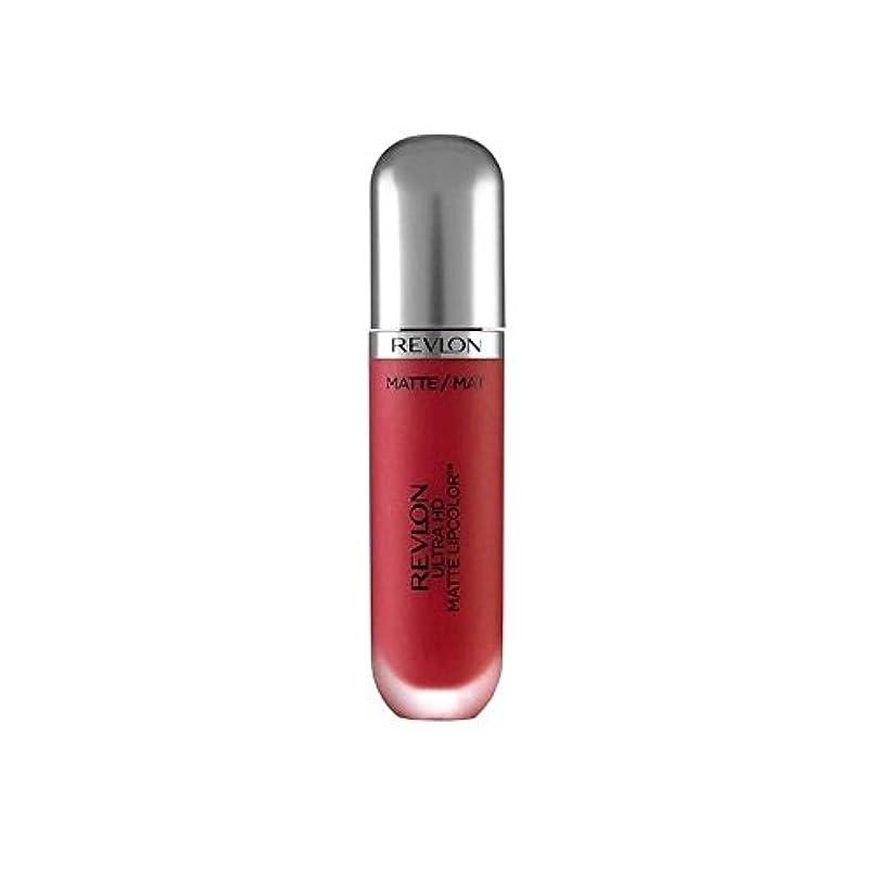 思い出す対話牽引Revlon Ultra HD Matte Lipstick Passion 5.9ml - レブロンウルトラマット口紅パッション5.9ミリリットル [並行輸入品]