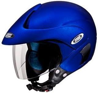 Studds Marshall Half Helmet (Matt Blue, L)
