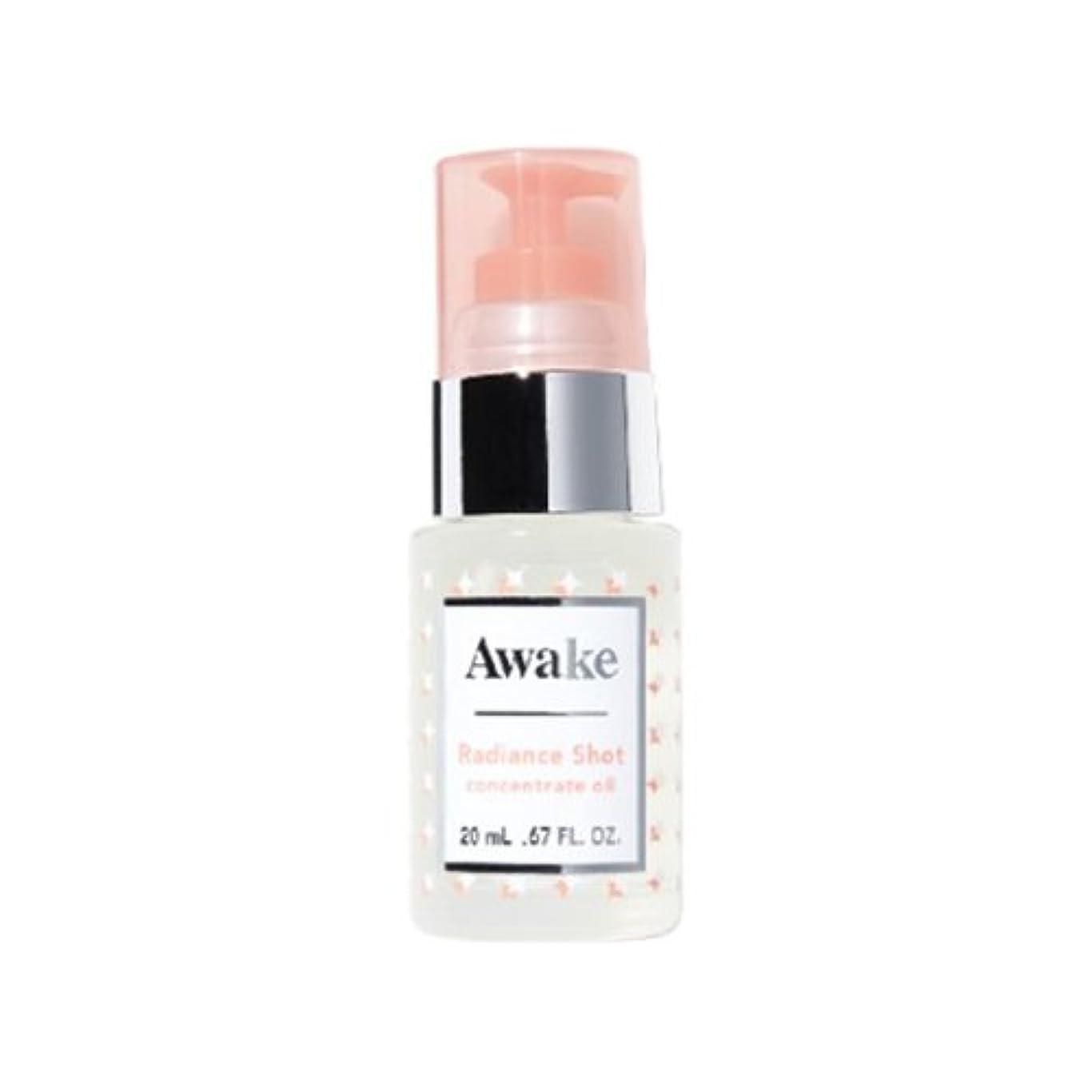 アジャ表向き最小化するアウェイク(AWAKE) Awake(アウェイク) ラディアンスショット コンセントレイトオイル 〈美容オイル〉 (20mL)