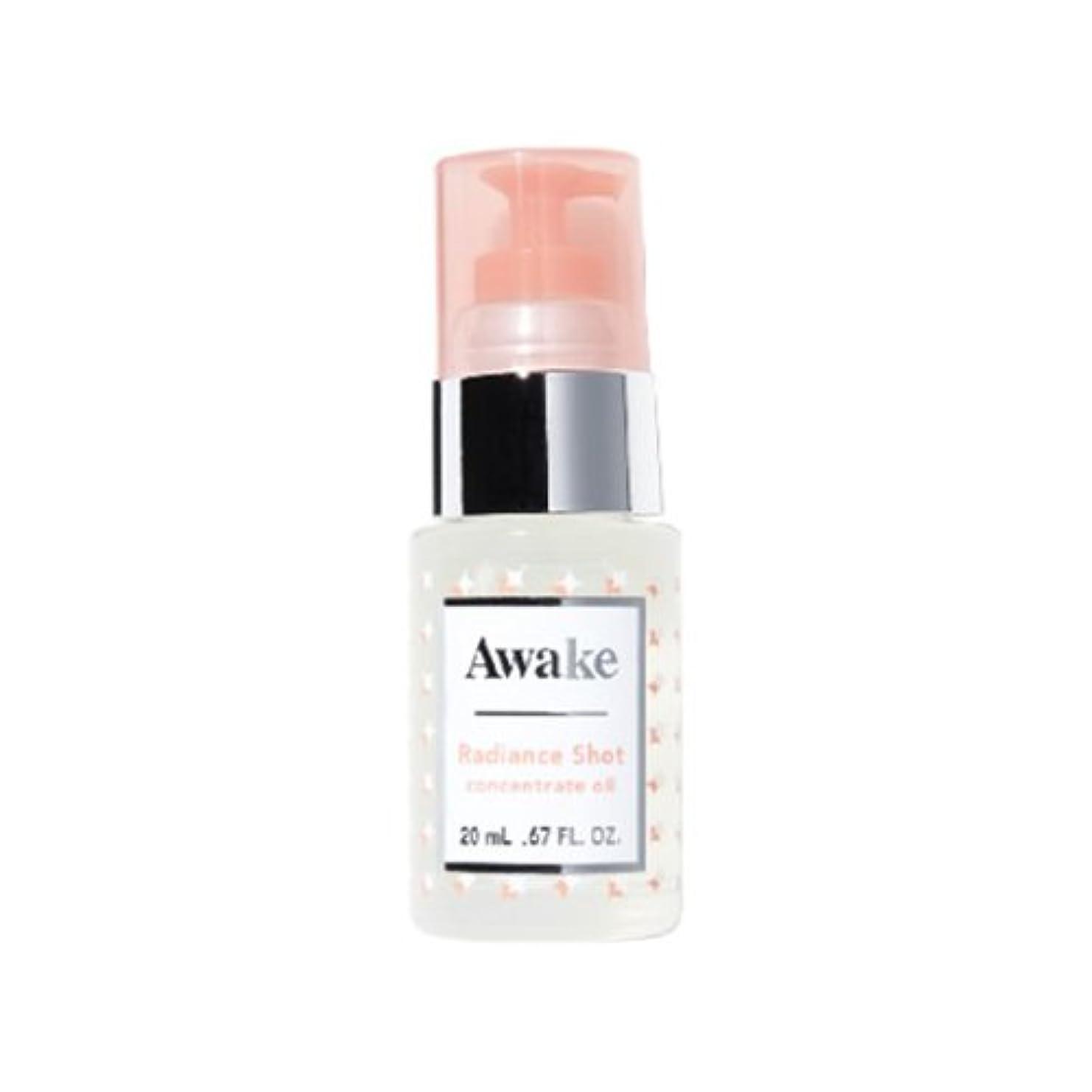 リースかけがえのないグラフィックアウェイク(AWAKE) Awake(アウェイク) ラディアンスショット コンセントレイトオイル 〈美容オイル〉 (20mL)