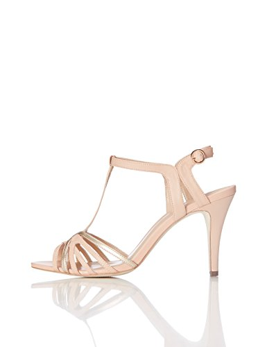Marca Amazon - find. Sandalias de Tiras para Mujer