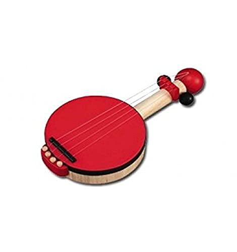 PlanToys Wood Banjo Musical Toy Instrument (6411)