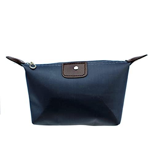 Gymy Kosmetiktasche für Damen, Clutch, Handtasche, Kosmetiktasche, Aufbewahrungstasche (Farbe: Marineblau)