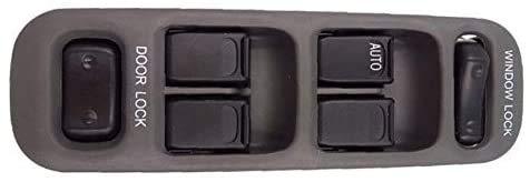 Interruptor de ventana delantera izquierda del lado del conductor/ajuste para Suzuki/Fit For Grand/Fit For Vitara XL-7/Fit For BALENO/Fit For Casement (negro)