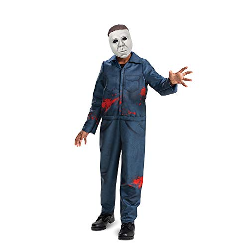 Michael Myers Costume for Kids, Official Halloween...