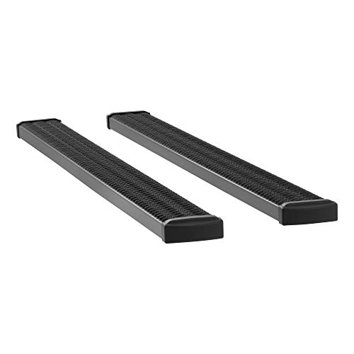 LUVERNE 415088-409922 Grip Step Black Aluminum 88-Inch Truck Running Boards, Select Ford F-250, F-350, F-450, F-550 Super Duty