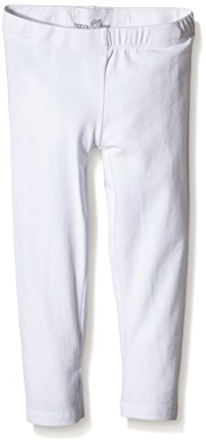 Happy Girls Basic Jersey Leggings, Bianco (Weiß 10), 5 anni (Taglia Produttore: 116)