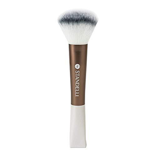 Standelli - Make Up Pinsel, Puderpinsel, Rougepinsel mit weichen Bürstenhaaren - Make-up Brush, Schminkpinsel, Kosmetikpinsel ideal zum Auftragen von Puder und Rouge