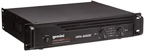 Gemini GPA-6000 5000W Professional DJ Power Amplifier